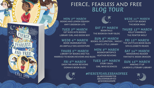 Fierce ,Fearless and Free Banner2